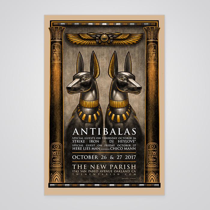 Antibalas Poster