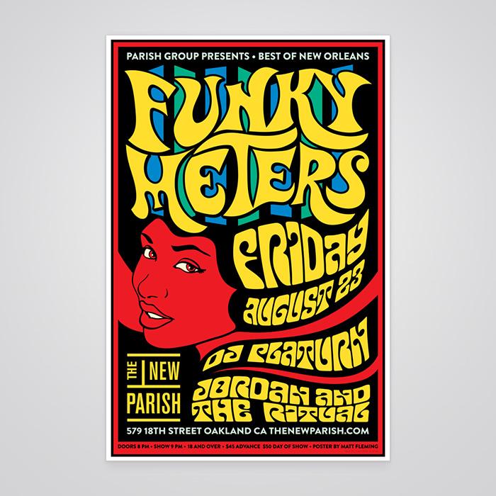 Funky Meters Poster