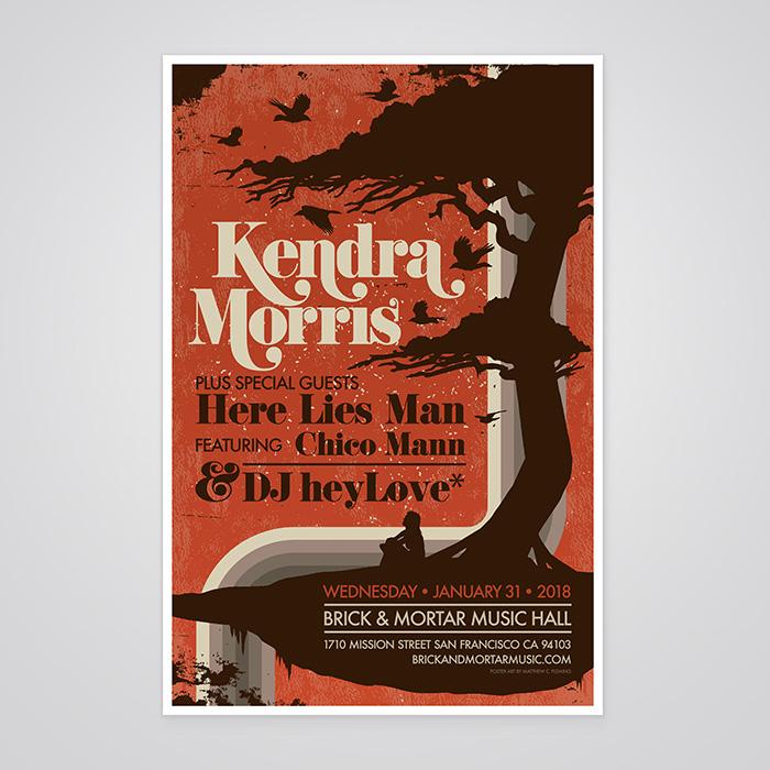 Kendra Morris Poster