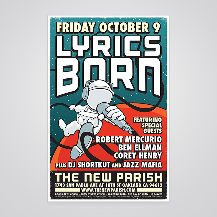 Lyrics Born Poster
