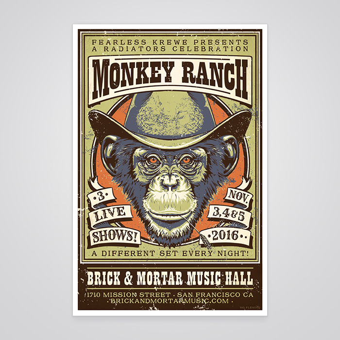 Monkey Ranch Poster