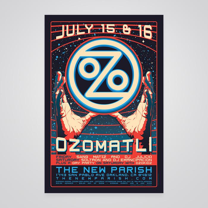 Ozomatli Poster