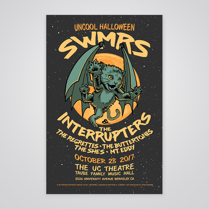 SWMRS and The Interrupters Commemorative Poster