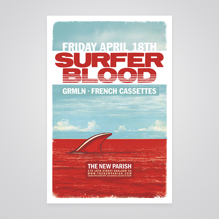 Surfer Blood Poster