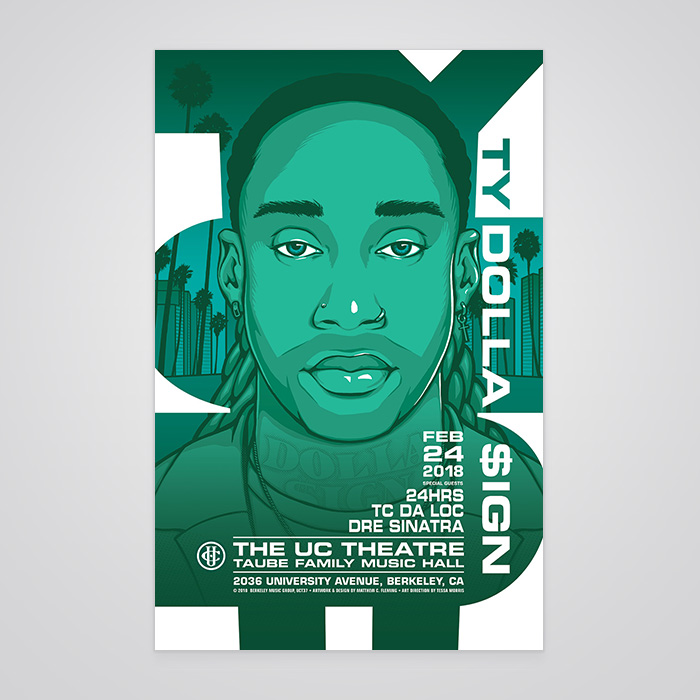 Ty Dolla $ign Commemorative Poster